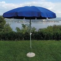 Ombrellone NATERIAL Ita 002 L 2.4 x P 2.4 m color blu