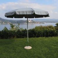 Ombrellone NATERIAL Ita 002 L 2.4 x P 2.4 m color grigio