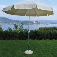 Ombrellone NATERIAL Ita 002 L 2.4 x P 2.4 m color ecru