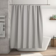 Tenda doccia Essential in peva trasparente L 180 x H 200 cm