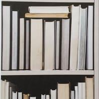 Carta da parati Libreria