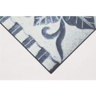 Passatoia Vinyl ornamento , blu, 50x120