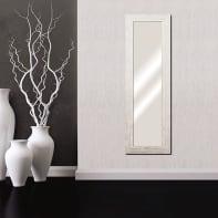 Specchio a parete rettangolare Liders bianco 41x136 cm