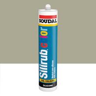 Silicone SOUDAL Multiuso Colorato RAL 7032 grigio ghiaia 300 ml
