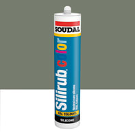 Silicone SOUDAL Multiuso Colorato RAL 7030 grigio pietra 300 ml