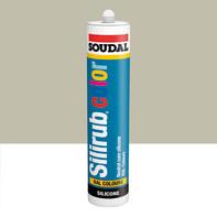 Silicone SOUDAL Multiuso Colorato RAL 7044 grigioseta 300 ml