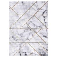 Tappeto Carrara C , grigio chiaro, 160x230 cm