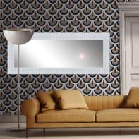 Specchio a parete rettangolare Marina bianco 60x170 cm