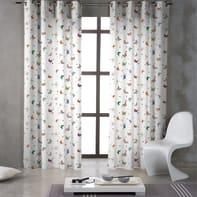 Tenda INSPIRE Farfalle multicolore occhielli 140 x 270 cm