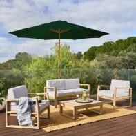 Coffee set in legno NATERIAL Solaris per 4 persone