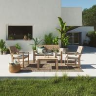 Coffee set in legno NATERIAL Solis per 4 persone