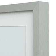 Cornice con passe-partout Inspire milo argento 30x30 cm