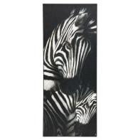 Passatoia Vista Zebra , bianco, 50x120