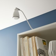 Faretto Velise bianco, in metallo, GU10 IP20 INSPIRE
