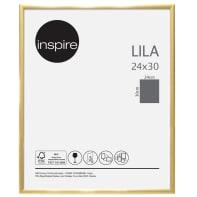 Cornice INSPIRE Lila oro per foto da 24x30 cm