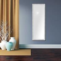 Specchio a parete rettangolare New York argento 70x180 cm