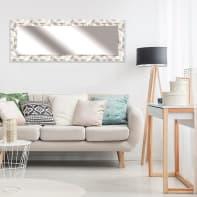 Specchio a parete rettangolare Osaka argento 57x157 cm
