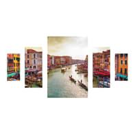 Quadro su tela Venice 175x90 cm