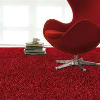 Tappeto Shaggy Morbido , rosso, 120x180 cm