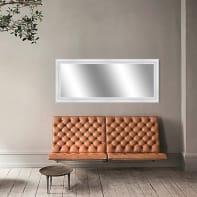 Specchio a parete rettangolare Venere bianco 62x162 cm