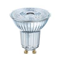 Lampadina LED filamento, GU10, Faretto, Trasparente, Luce calda, 4.3W=350LM (equiv 50 W), 36° , OSRAM