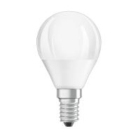 Set di 3  lampadine LED, E14, Goccia, Opaco, Luce calda, 5W=470LM (equiv 40 W), 150° , OSRAM