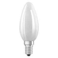 Lampadina LED filamento, E14, Oliva, Opaco, Luce calda, 6.5W=806LM (equiv 60 W), 360° , OSRAM