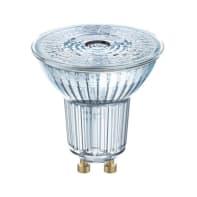 Lampadina LED, GU10, Faretto, Trasparente, Luce calda, 4.3W=350LM (equiv 50 W), 36° , OSRAM