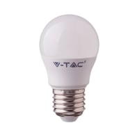 Lampadina smart lighting LED, E27, Sferico, Opaco, RGB, 5W=470LM (equiv 35 W), 180°