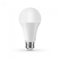 Lampadina smart lighting LED, WIFI, E27, Goccia, Opaco, RGB, 9W=800LM (equiv 60 W), 200°