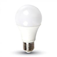 Lampadina LED E27 standard bianco naturale 9W = 806LM (equiv 60W) 200°