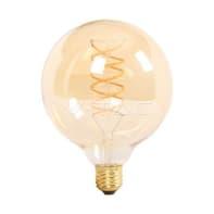 Lampadina decorativa LED, E27, Globo, Ambra, Luce calda, 6W=480LM (equiv 35 W), 300°