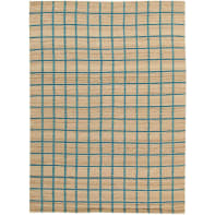 Tappeto Kilim box in lana, beige, 100x160 cm
