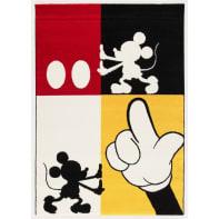 Tappeto Mickey Modern , multicolor, 133x190 cm