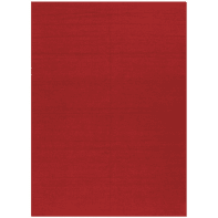 Tappeto Ubique in lana, rosso, 170x240 cm