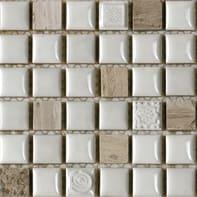 Mosaico Campione Freedom Ice H 15 x L 15 cm ghiaccio