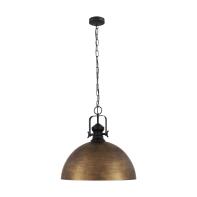 Lampadario Industriale Combwich oro in metallo, EGLO