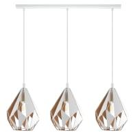 Lampadario Design Carltonmet oro in metallo, EGLO