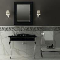 Mosaico Miscela grigia H 30 x L 30 cm grigio antracite