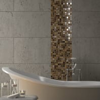 Mosaico Kawii Persia H 30 x L 30 cm marrone
