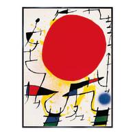 Stampa incorniciata Le Soleil Rouge 60.7x80.7 cm