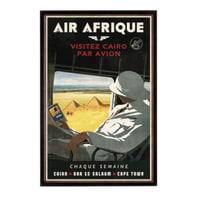 Stampa incorniciata Air Afrique 50.7x75.7 cm