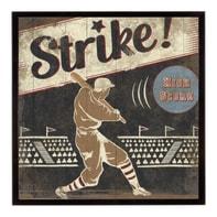Stampa incorniciata Strike 24.7x30.7 cm