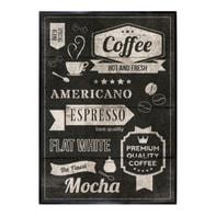 Stampa incorniciata Coffee H I 50.7x70.7 cm