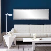 Specchio a parete rettangolare Brilla 40 argento 127.4x37.4 cm