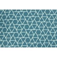 Cuscino Prisme blu 30x50 cm