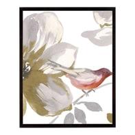Stampa incorniciata Bird Chatter I 40.7x50.7 cm