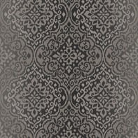 Carta da parati Damasco glitter antracite, 53 cm x 10 m