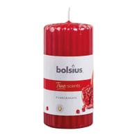 Candela profumata BOLSIUS essenza melograno H 12 cm