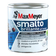 Smalto MaxMeyer Smalto poliuretanico brillante bianco 0.125 L